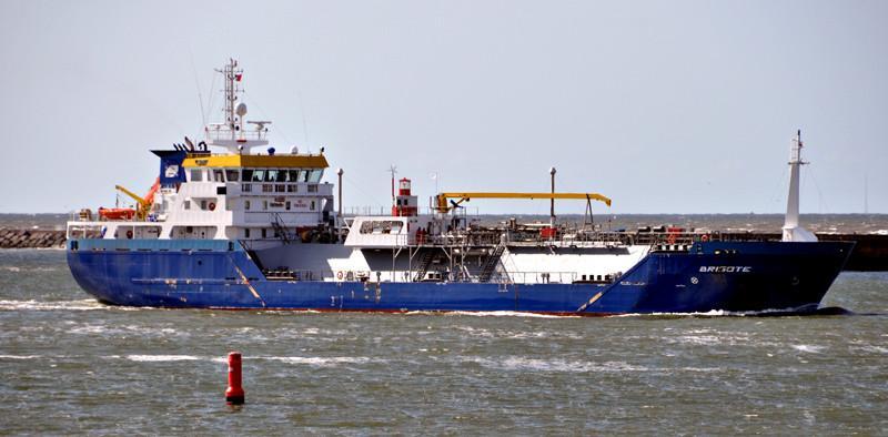 BRISOTE. Rakennettu 2014, Hollanti. 87x15m. Lpg – tankkeri. Pääkone Mitsubishi 1343 KW. Lastikapasiteetti 2718 m3. Omistaja: Chemgas Shipping B.V, Hollanti. Lippu: Hollanti.