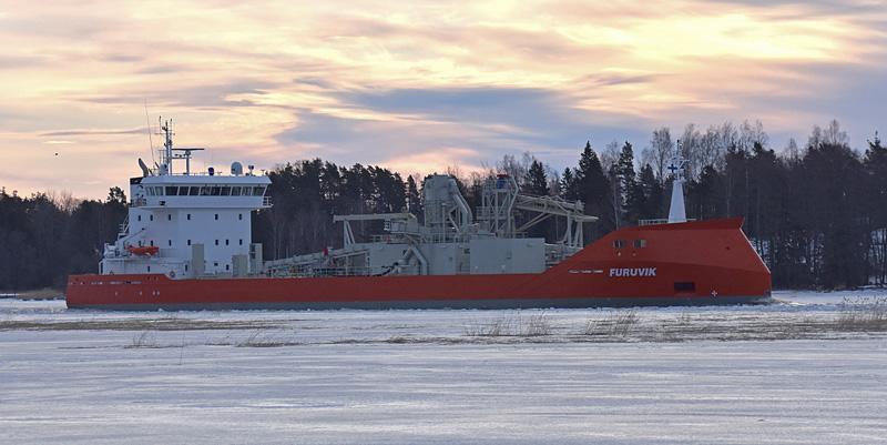 rahtilaiva m/s Furuvik