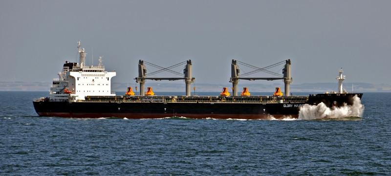 GLORY HARVEST. Rakennettu 2014, Kiina. 199x32m. Syväys 6,5m. Glory Ships, Singapore. Lippu: Marshalsaaret.