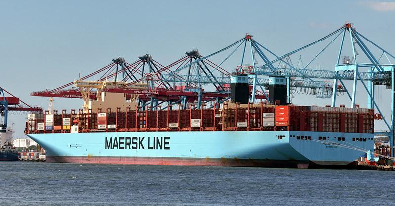 Konttilaiva Munich Maersk
