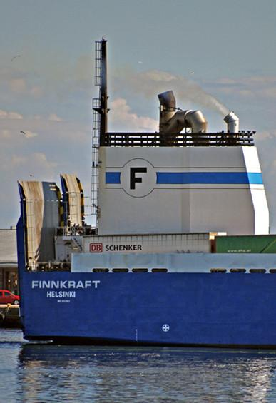 Alfa Lavalin rikkipesurijärjestelmä- Alfa Laval PureSOx exhaust gas cleaning system.