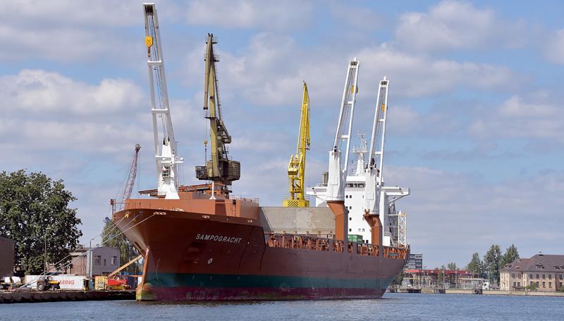 Rahtilaiva Sampogracht