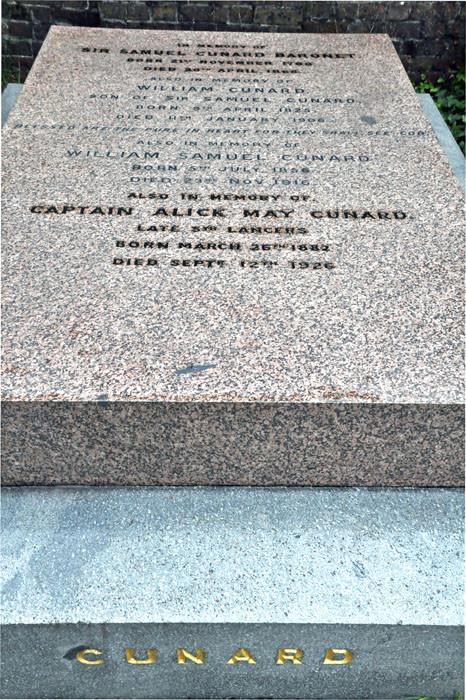 Sir Samuel Cunard..