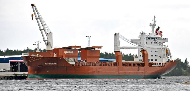 SLOTERGRACHT. Rakennettu 2000 Japanissa. 168x25m. Kuivarahtialus. Jääluokka 1A. Operoija Spliethoff. Lippu: Hollanti.